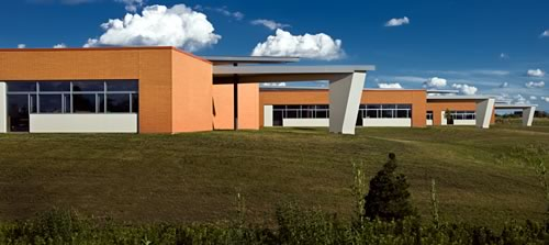 Colin Powell Middle School (Photo courtesy Legat Architects)