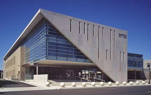 Waukegan City Hall (photo copyright Steinkamp-Ballog Photography)