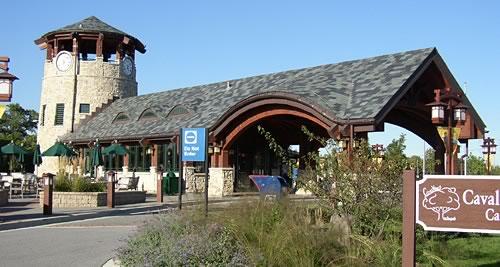 Metra Tinley Park Train Station (Photo courtesy Legat Architects)