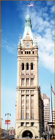 Milwaukee's City Hall tower - Photo courtesy of SGH