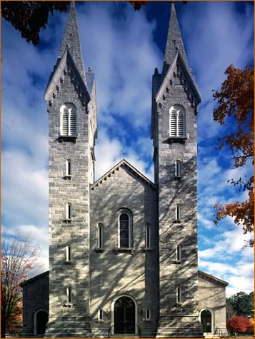 Bowdoin Chapel, Bowdoin College, Brunswick, Maine - Photo courtesy of SGH