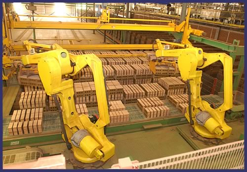 Plant automation is making better bricks without raising prices.
