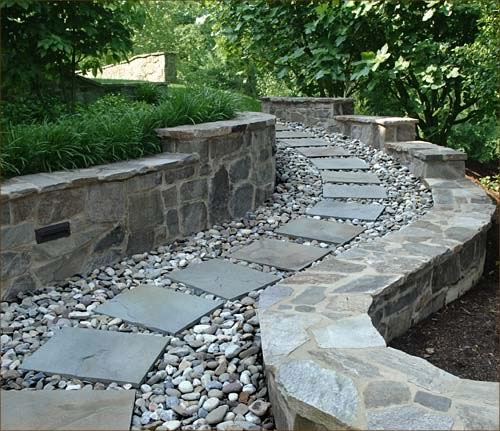 Exterior Walkway - Photo courtesy of Natural Stone Council