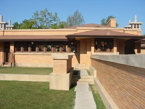 Darwin D. Martin House designed by Frank Lloyd Wright