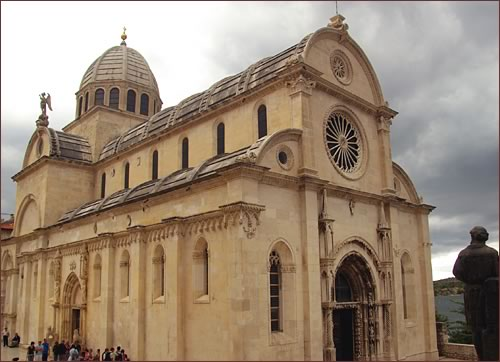 St. Jacob's Cathedral in Sibenik, Croatia
