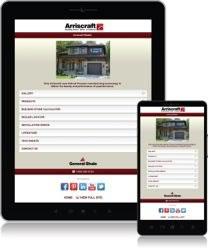 Arriscraft Mobile Site