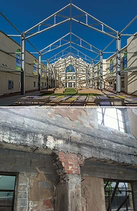 PGAL's restoration and repurposing of Houston's historic Bethel Baptist Church.