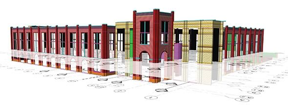 Tradesmen's OS3DE On-screen 3D estimating software is an excellent tool for Building Information Modeling – Masonry