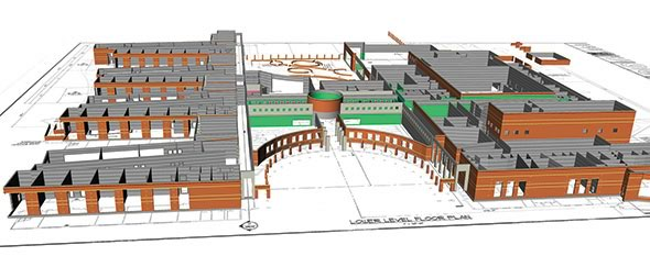 3D Modelling and BIM-M in use for River Bluff High School in Lexington, S.C.