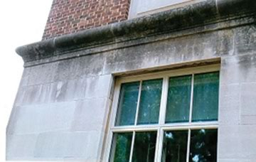 Indiana Limestone Cleaning - you can't clean this surface by using Tide as your cleaning agent rather than a limestone cleaner.