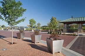 Smother's Park and Riverfront Crossing award-winning hardscape design