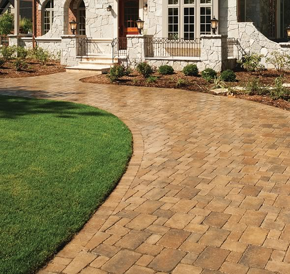 Brick, Concrete, Permeable, Interlocking And Stone Pavers Are Popular  Paving Options For Exterior
