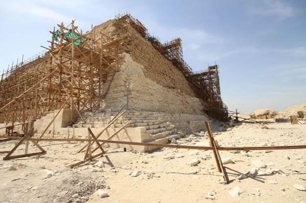 Pyramid scaffolding