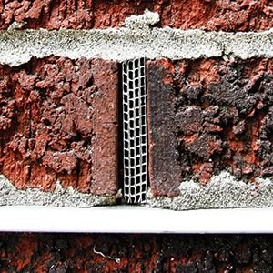 cell vent fully opening head joint flashing masonry wall durability