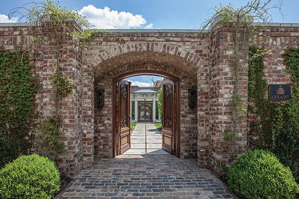 The Apiary Lexington Kentucky brick stone
