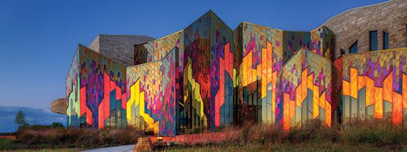 Museum At Prairiefire Masonry Design