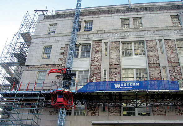 Restoration of Martin Luther King, Jr. Federal Building in Atlanta, Ga.