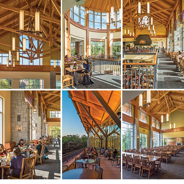 amazing Bolton Dining Commons masonry design