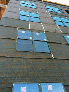 Driwall Rainscreen 020-1 installation