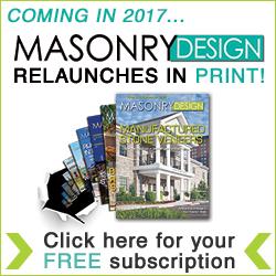 Masonry Design Print Subscriptions