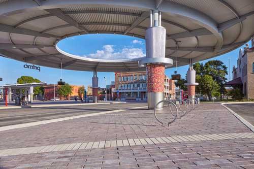 Pavestone created custom pavers for Centro Plaza in San Antonio, Texas.