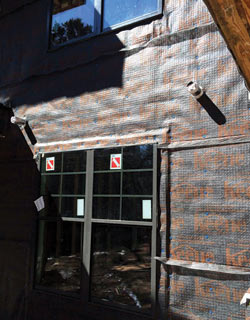 Keene Building's Driwall Rainscreen system is a drainage mat for exterior wall systems