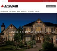 Arriscraft new site