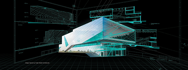 As the architect's BIM tool, Vectorworks software helps designers take on any project in any phase of design, connecting workflows from concept to construction. Courtesy of Vectorworks, Inc.