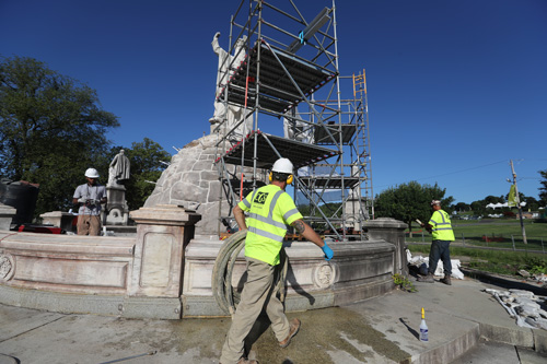 CGS helped to restore the 1800s-era Catholic Total Abstinence Fountain