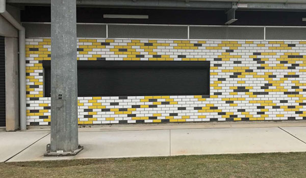 Graffiti-Resistant Glazed Brick Tile Facade Proves a Winner for Chifley Sports Reserve