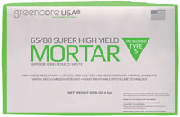 Greencore USA Super High Yield Mortar