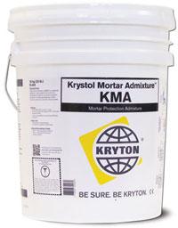 Krystol Mortar Admixture (KMA) From Kryton