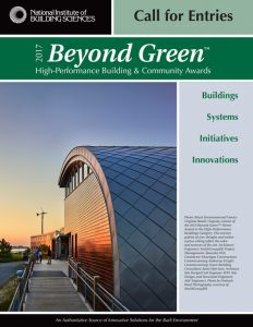 Beyond Green Award Call for Entries