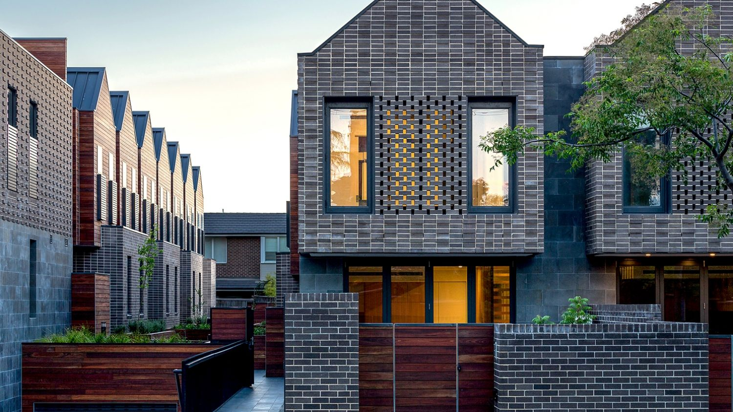 KUD's Barkers Road townhouses