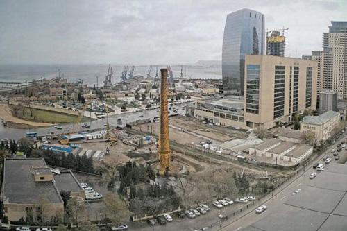 Baku chimney