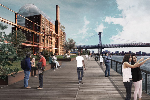 Domino Sugar Factory redesign