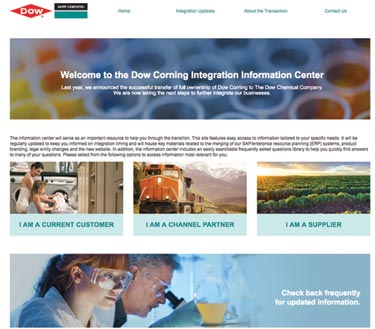 DOWSIL™ Name Announced for Dow Corning Silicone Building Products