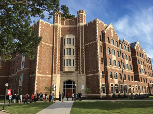 KWK Architects Designs Residential Colleges at the University of Oklahoma