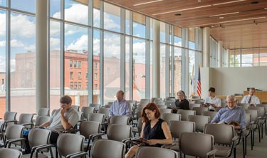 A 1930s courthouse is transformed for the 21st century