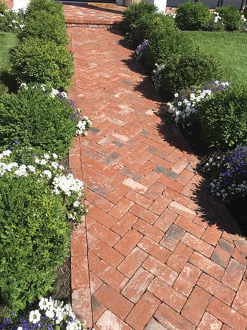 Tumbled Luzerne Paver from Watsontown Brick